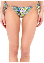Trina Turk Nomad Paisley Tie Side Hipster Bottoms