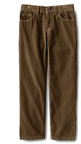 Classic Little Boys Slim 5-pocket Corduroy Pants-French Walnut