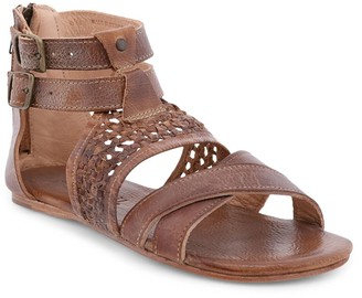 Bed Stu Leather Woven Sandal - Capriana