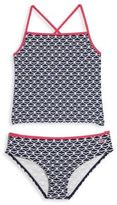 Vineyard Vines Toddler's and Little Girl's Whale Tail Tankini