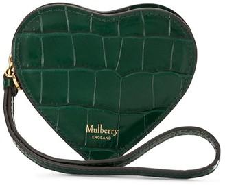 Mulberry Crocodile-Embossed Wallet