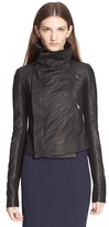 Rick Owens Women's 'Classic' Leather Biker Jacket