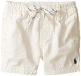 Ralph Lauren Broken Twill Relaxed Shorts (Infant)