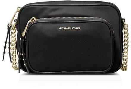 eb34477ef MICHAEL Michael Kors Gold Leather Crossbody Handbags - ShopStyle