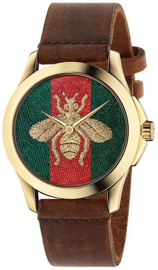 Gucci Watch Le Marché Des Merveilles Watch Case 38mm Motif Ape