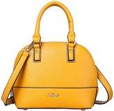 La Cle LA-060 Dome Shell Satchel Crossbody Handbag