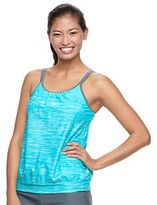 Free Country Women's 2-in-1 Blouson Tankini Top