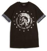 Diesel Boy's Signature Mohawk Graphic T-Shirt