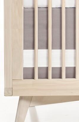 Oilo Print Band Crib Skirt