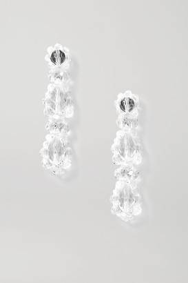 Simone Rocha Crystal Earrings - Clear