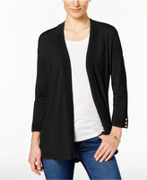 Charter Club Button-Cuff Cardigan, Only at Macy's