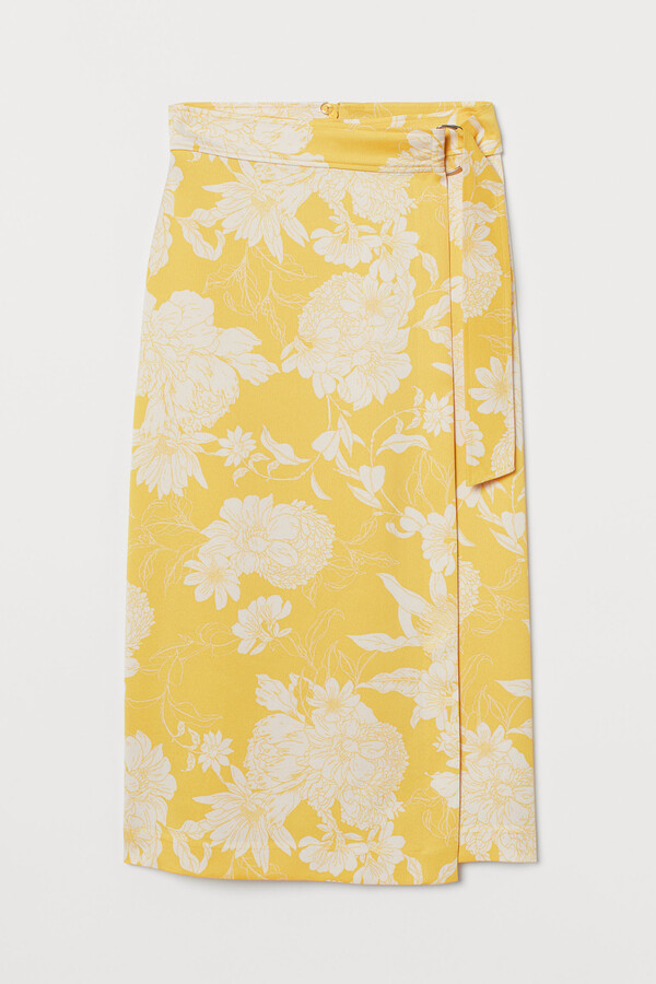 Thumbnail for your product : H&M D-ring wrapover skirt