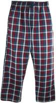 Hanes Men's Woven Plaid Drawstring Sleep Pajama Pants, 2XL