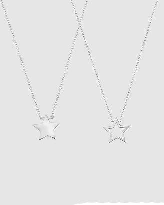 Secret Sisterhood Star Friendship Necklaces
