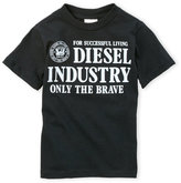 Diesel Boys 4-7) Graphic Tee