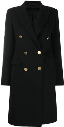 Tagliatore Double-Breasted Fitted Coat