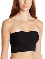 Kensie Women's Lola Crop Bandeau Top