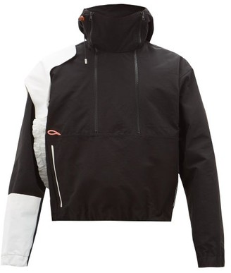 Boramy Viguier - Panelled-sleeve Cotton-blend Faille Track Jacket - Mens - Black