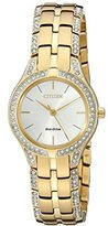Citizen Eco-Drive Women's FE2062-58A Silhouette Crystal Watch