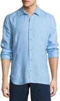 Orlebar Brown Meden Linen Sport Shirt