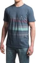 VISSLA Kookabunga Cotton-Blend Knit Shirt - Crew Neck, Short Sleeve (For Men)