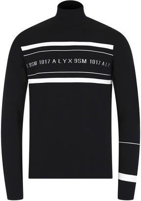 Alyx multi Stripe Logo Sweater