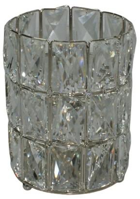 Elégance Crystal Hurricane Candle Holder