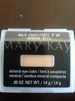 Mary Kay Mineral Eye Shadow ~ Gold Coast 46684 ~ New in Package .05oz by