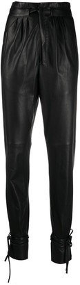 Isabel Marant Duard tie-ankle trousers