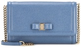 Salvatore Ferragamo Embellished leather clutch