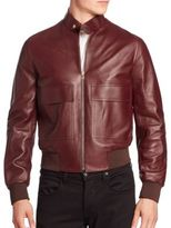 Paul Smith Lamb Leather Jacket