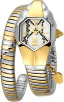 Just Cavalli Women's JC1L001M0165 JC DNA Dial with Two Tone Stainless-Steel Band Watch.