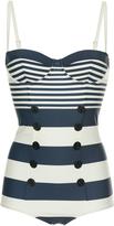 Dolce & Gabbana Striped swimsuit