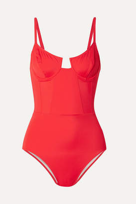 Solid & Striped + Re/done The Hollywood Underwired Swimsuit - x small