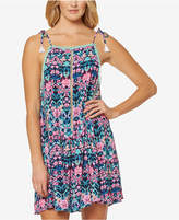 Jessica Simpson Tie-Shoulder Cover-Up Dress Women's Swimsuit
