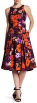 Milly Katie Floral Midi Skirt
