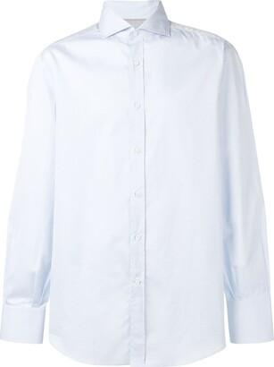 Brunello Cucinelli Pointed Collar Shirt