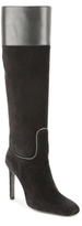 Roger Vivier Final Sale Suede and Leather Tall Boot