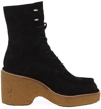Rag & Bone Scout Suede Wedge Platform Boots
