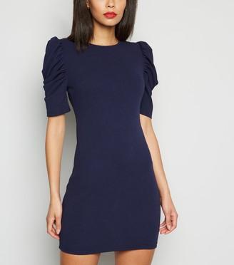 New Look AX Paris Puff Sleeve Bodycon Dress