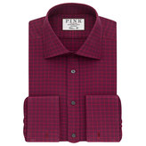 Thomas Pink Rudkin Check Classic Fit Double Cuff Shirt