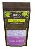 HUGO Naturals Effervescent Bath Salt, French Lavender, 14 Ounce Resealable Bag