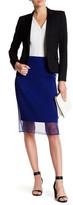 HUGO BOSS Pleated Pencil Skirt