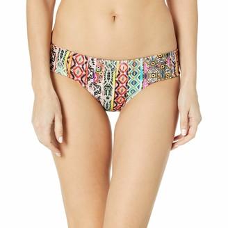 Luli Fama Women's My Way Side Tab Reversible Bikini Bottom