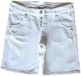 Cycle White Denim - Jeans Shorts for Women