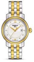 Tissot Bridgeport Women's Two-Tone Quartz Watch with Diamonds, 29mm