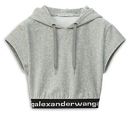 alexanderwang.t Hoodie Crop Top