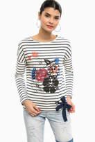 Desigual Floral Sweat Shirt