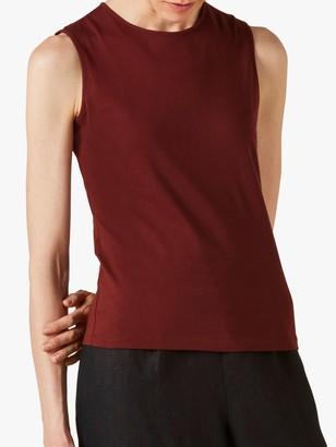 Jigsaw Supima Cotton Sleeveless T-Shirt