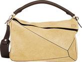 """Loewe Women's """"Puzzle"""" Large Shoulder Bag-GOLD"""